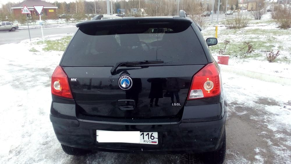 Подержанный Geely MK, отличное состояние, черный , 2014 года выпуска, цена 250 000 руб. в республике Татарстане