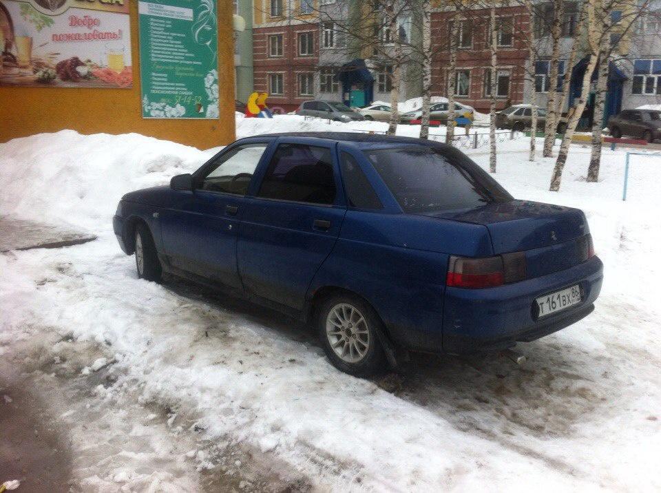 Подержанный ВАЗ (Lada) 2110, среднее состояние, синий , 2000 года выпуска, цена 45 000 руб. в ао. Ханты-Мансийском Автономном округе - Югре