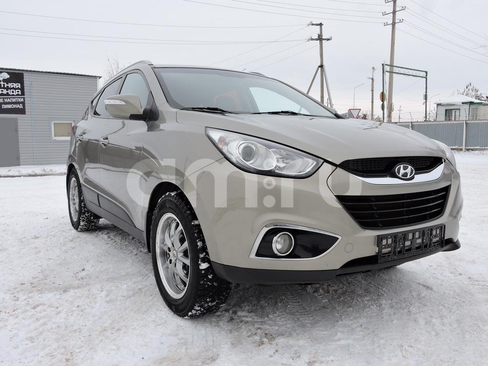 Подержанный Hyundai ix35, отличное состояние, сафари металлик, 2010 года выпуска, цена 815 000 руб. в республике Татарстане