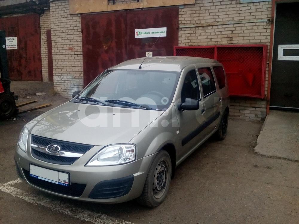 Подержанный ВАЗ (Lada) Largus, отличное состояние, серый металлик, 2015 года выпуска, цена 460 000 руб. в республике Татарстане