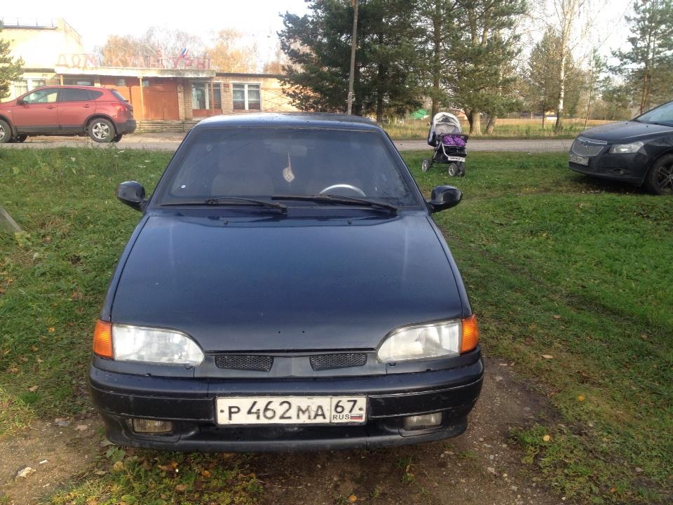 Подержанный ВАЗ (Lada) 2115, хорошее состояние, черный , 2006 года выпуска, цена 110 000 руб. в Смоленской области