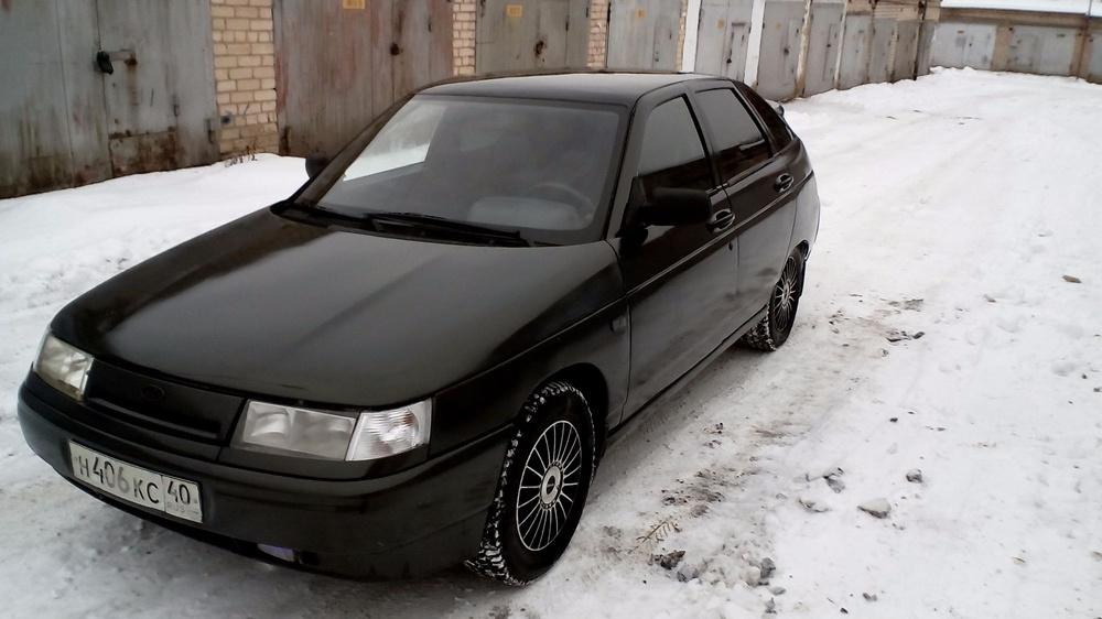 Подержанный ВАЗ (Lada) 2112, среднее состояние, зеленый , 2006 года выпуска, цена 86 000 руб. в Челябинской области