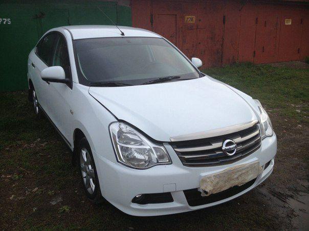 Подержанный Nissan Almera, отличное состояние, белый , 2014 года выпуска, цена 480 000 руб. в республике Татарстане