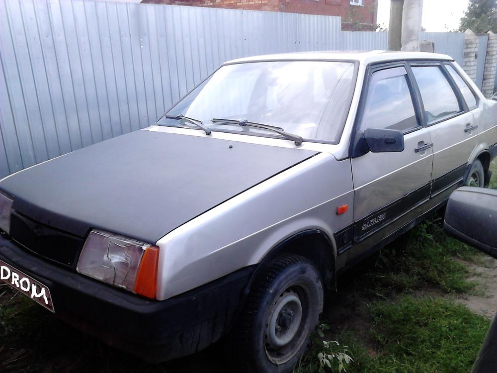 Подержанный ВАЗ (Lada) 2109, хорошее состояние, бежевый , 1997 года выпуска, цена 45 000 руб. в Челябинской области