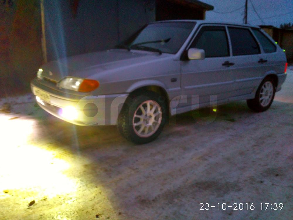 Подержанный ВАЗ (Lada) 2114, хорошее состояние, серебряный , 2008 года выпуска, цена 130 000 руб. в ао. Ханты-Мансийском Автономном округе - Югре