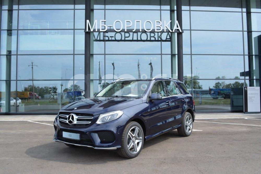 Новый авто Mercedes-Benz GLE-Класс, синий металлик, 2016 года выпуска, цена 4 790 000 руб. в автосалоне МБ-Орловка (Набережные Челны, тракт Мензелинский, д. 24)