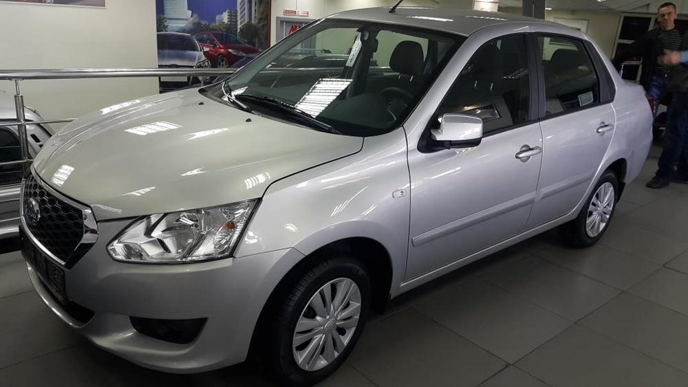 Datsun on-DO с пробегом, серебряный , отличное состояние, 2016 года выпуска, цена 436 000 руб. в автосалоне  ()