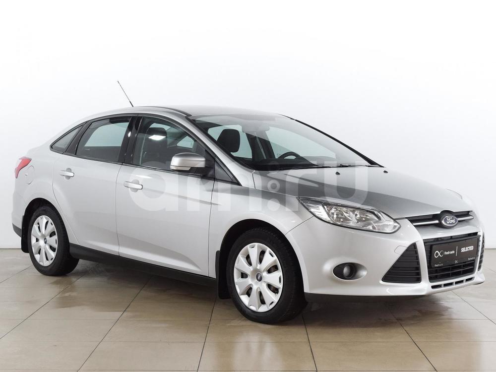 Ford Focus с пробегом, серебряный , отличное состояние, 2012 года выпуска, цена 499 000 руб. в автосалоне  ()