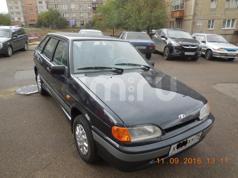 Подержанный ВАЗ (Lada) 2114, отличное состояние, черный металлик, 2007 года выпуска, цена 215 000 руб. в Челябинской области