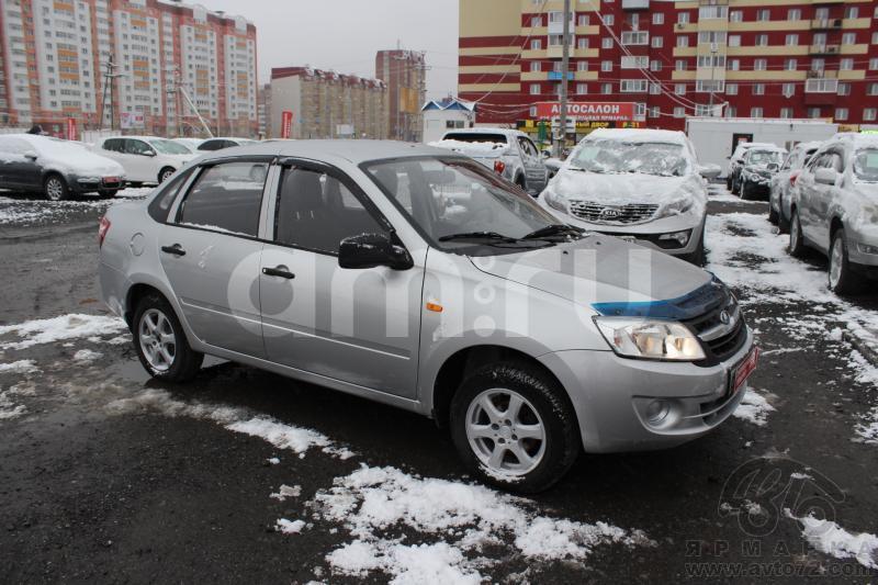 ВАЗ (Lada) Granta с пробегом, серебряный , отличное состояние, 2012 года выпуска, цена 260 000 руб. в автосалоне  ()