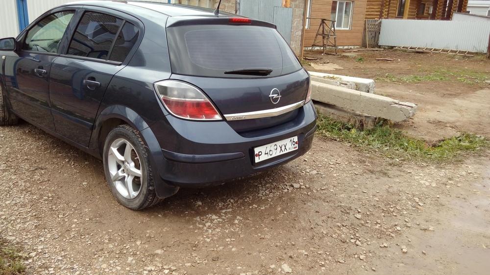 Подержанный Opel Astra, отличное состояние, синий , 2007 года выпуска, цена 400 000 руб. в республике Татарстане