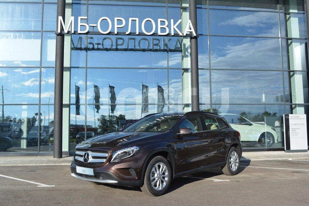 Новый авто Mercedes-Benz GLA-Класс, серый металлик, 2016 года выпуска, цена 2 300 000 руб. в автосалоне  ()