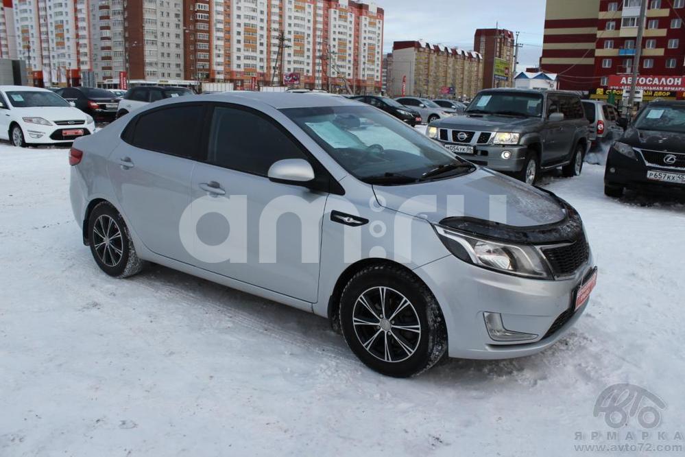 Kia Rio с пробегом, серебряный , отличное состояние, 2012 года выпуска, цена 485 000 руб. в автосалоне  ()