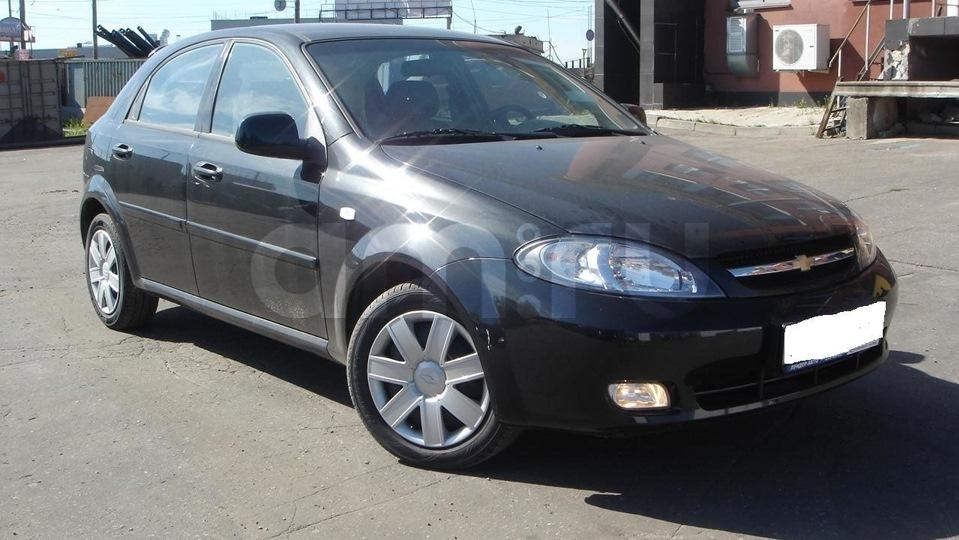 Подержанный Chevrolet Lacetti, хорошее состояние, черный , 2008 года выпуска, цена 270 000 руб. в республике Татарстане
