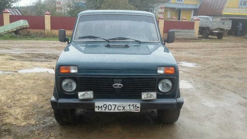 Подержанный ВАЗ (Lada) 4x4, хорошее состояние, зеленый , 2010 года выпуска, цена 185 000 руб. в республике Татарстане