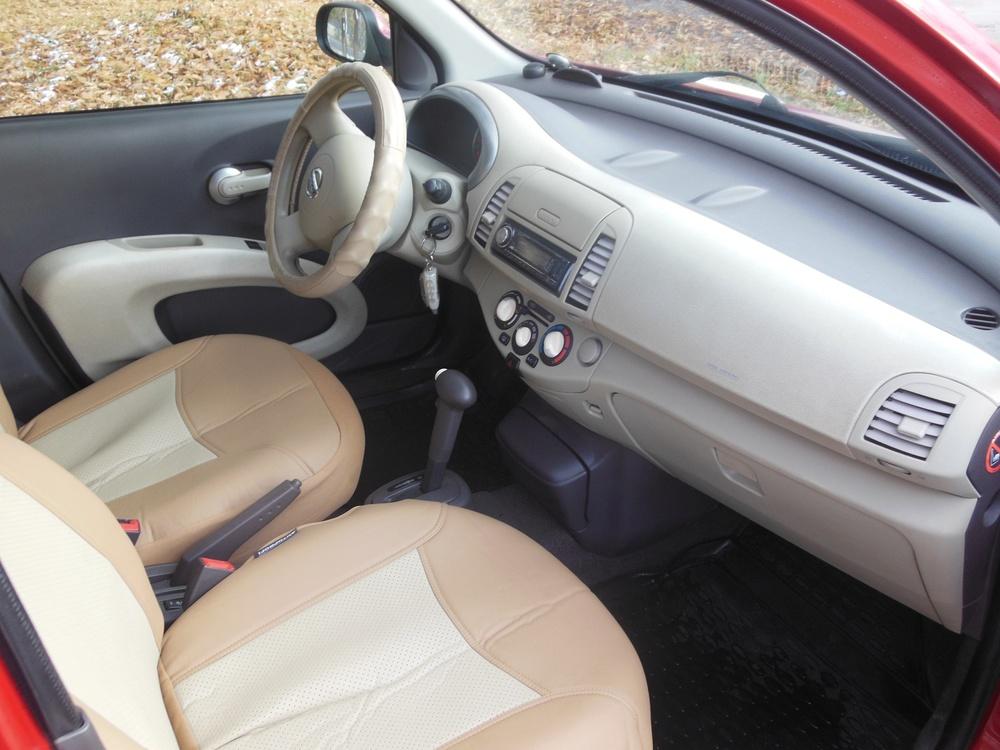 Nissan Micra с пробегом, красный металлик, хорошее состояние, 2007 года выпуска, цена 370 000 руб. в автосалоне  ()