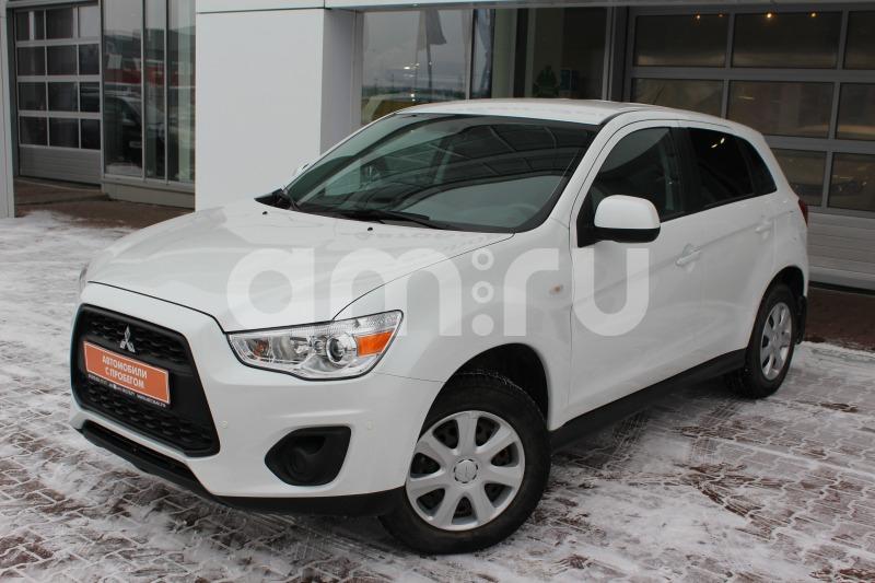 Mitsubishi ASX с пробегом, белый , отличное состояние, 2014 года выпуска, цена 769 000 руб. в автосалоне Автобан-Запад (Екатеринбург, ул. Металлургов, д. 67)
