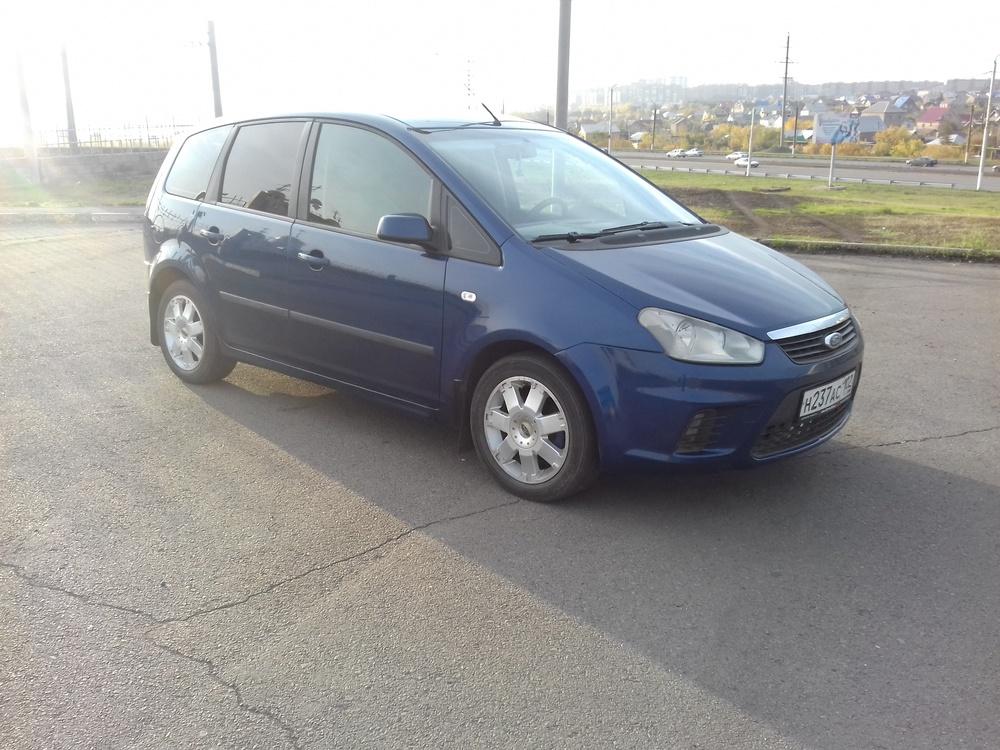 Подержанный Ford C-Max, отличное состояние, пурпурный , 2008 года выпуска, цена 350 000 руб. в Челябинской области
