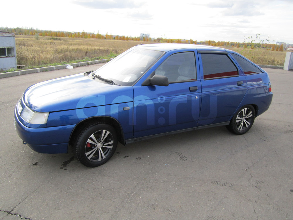 Подержанный ВАЗ (Lada) 2112, хорошее состояние, синий , 2007 года выпуска, цена 129 000 руб. в республике Татарстане