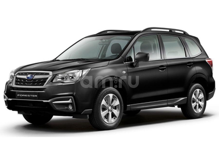 Новый авто Subaru Forester, черный , 2016 года выпуска, цена 1 799 900 руб. в автосалоне ТеррА Subaru (Иркутск, ул. Ширямова, д. 2/1)