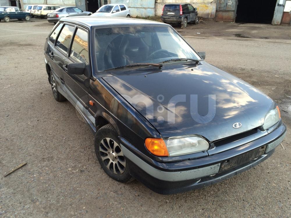 Подержанный ВАЗ (Lada) 2114, среднее состояние, черный металлик, 2006 года выпуска, цена 80 000 руб. в республике Татарстане