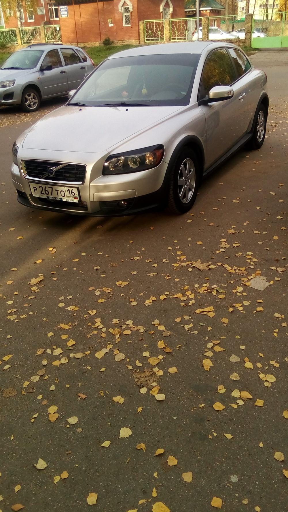 Подержанный Volvo C30, среднее состояние, серебряный металлик, 2008 года выпуска, цена 375 000 руб. в республике Татарстане