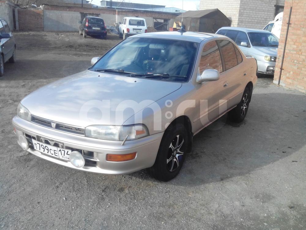Подержанный Toyota Sprinter, хорошее состояние, бронзовый , 1993 года выпуска, цена 120 000 руб. в Челябинской области