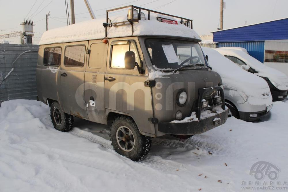 УАЗ 39625 с пробегом, серый , хорошее состояние, 2007 года выпуска, цена 220 000 руб. в автосалоне  ()