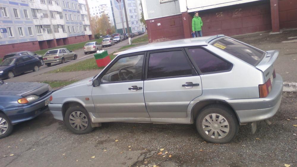 Подержанный ВАЗ (Lada) 2114, хорошее состояние, серебряный металлик, 2004 года выпуска, цена 75 000 руб. в республике Татарстане