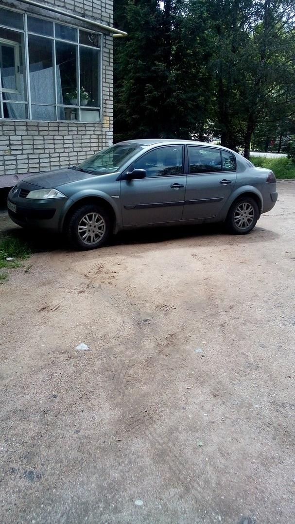 Подержанный Renault Megane, хорошее состояние, серый , 2005 года выпуска, цена 260 000 руб. в Смоленской области