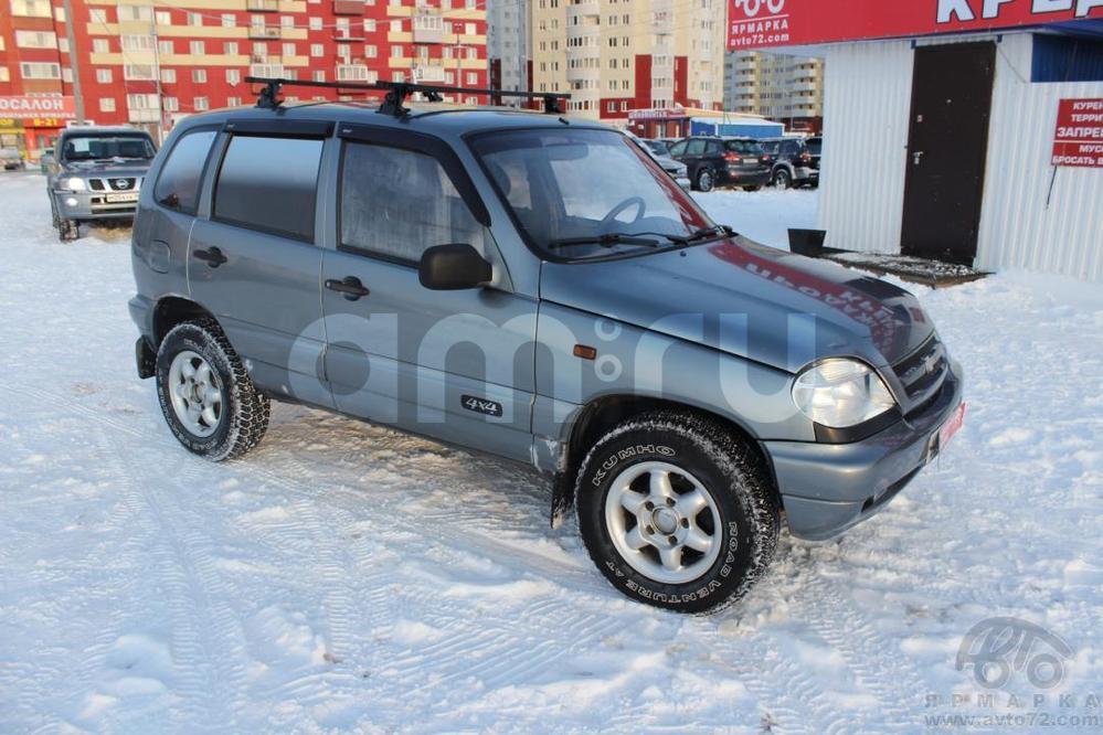 Chevrolet Niva с пробегом, серый , хорошее состояние, 2007 года выпуска, цена 220 000 руб. в автосалоне Автомобильная Ярмарка (Тюмень, ул. Пермякова, д. 85)