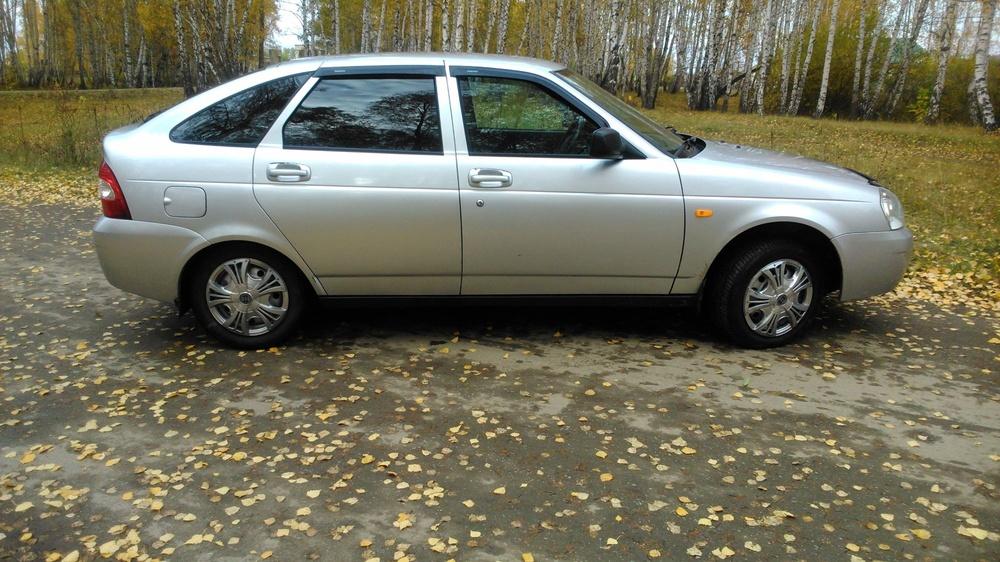 Подержанный ВАЗ (Lada) Priora, отличное состояние, серебряный , 2010 года выпуска, цена 187 000 руб. в Челябинской области
