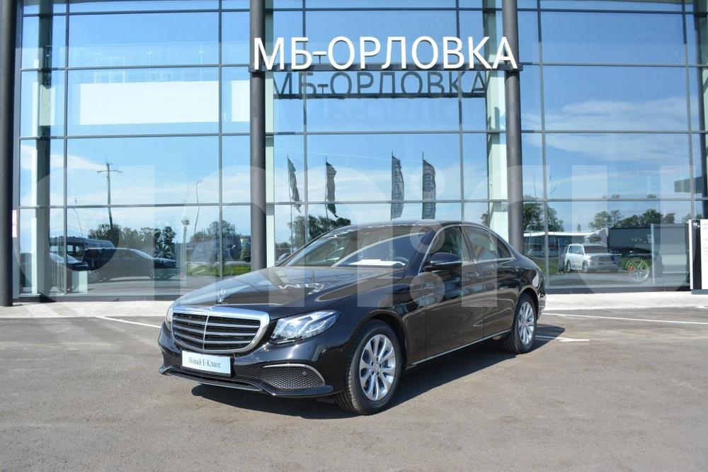 Новый авто Mercedes-Benz E-Класс, черный металлик, 2016 года выпуска, цена 3 160 000 руб. в автосалоне МБ-Орловка (Набережные Челны, тракт Мензелинский, д. 24)