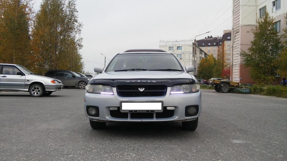 Подержанный Nissan Avenir, хорошее состояние, голубой , 2002 года выпуска, цена 250 000 руб. в ао. Ханты-Мансийском Автономном округе - Югре