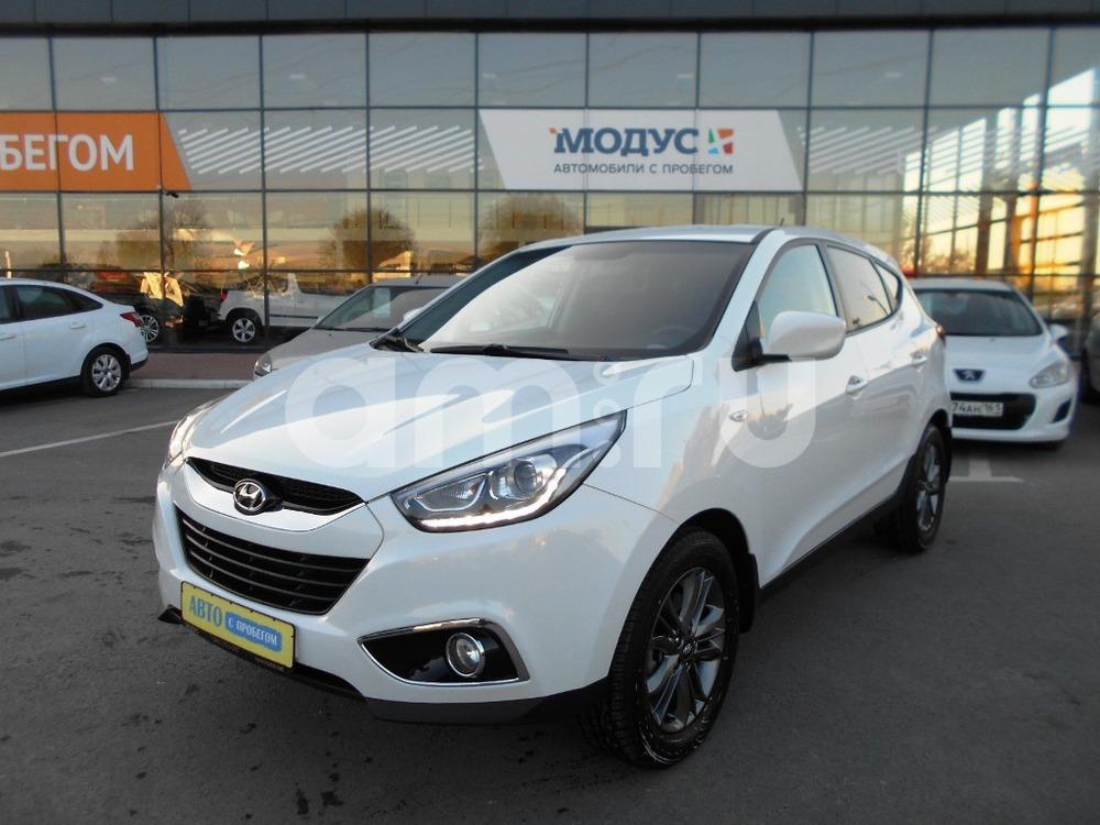 Hyundai ix35 с пробегом, белый , отличное состояние, 2014 года выпуска, цена 990 000 руб. в автосалоне  ()