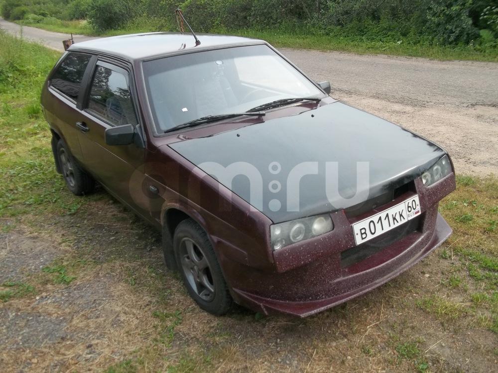 Подержанный ВАЗ (Lada) 2108, хорошее состояние, бордовый , 1990 года выпуска, цена 70 000 руб. в республике Татарстане
