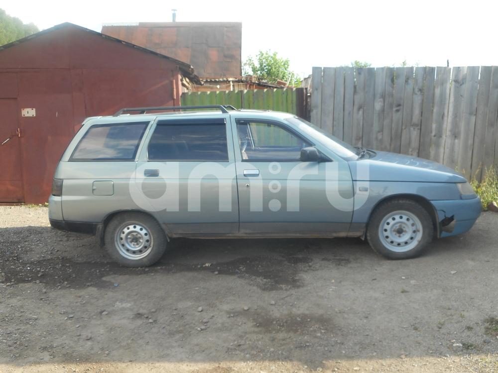 Подержанный ВАЗ (Lada) 2111, среднее состояние, серый , 2002 года выпуска, цена 45 000 руб. в Челябинской области