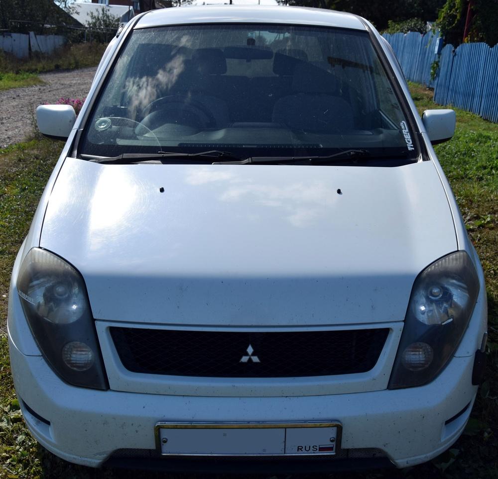 Подержанный Mitsubishi Dingo, отличное состояние, белый перламутр, 1999 года выпуска, цена 210 000 руб. в Челябинской области