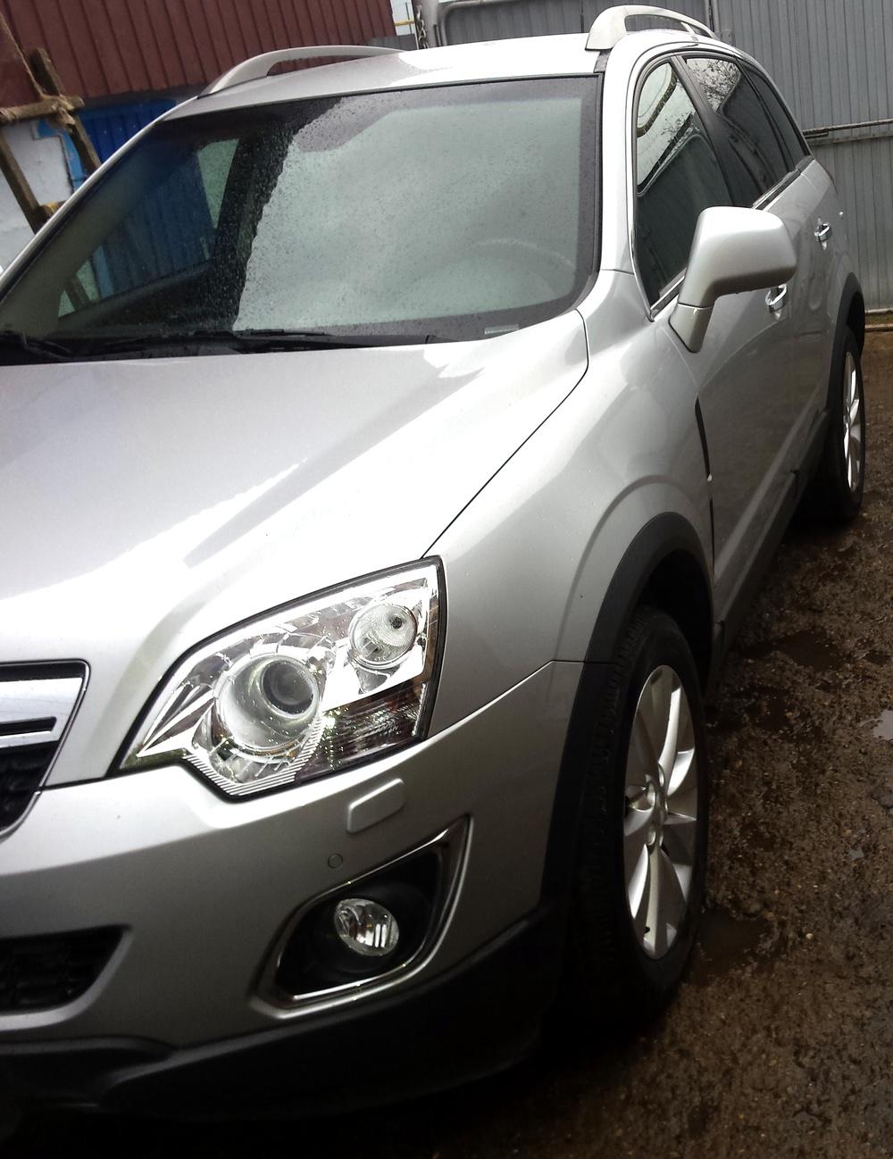 Подержанный Opel Antara, отличное состояние, серебряный , 2014 года выпуска, цена 1 100 000 руб. в республике Татарстане