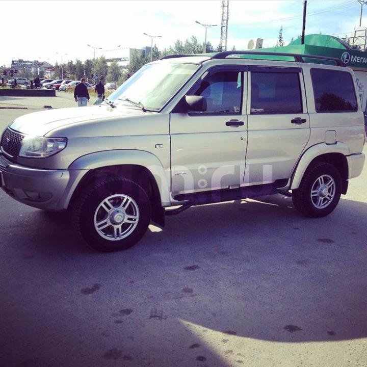 Подержанный УАЗ Patriot, хорошее состояние, сафари металлик, 2012 года выпуска, цена 549 000 руб. в ао. Ханты-Мансийском Автономном округе - Югре