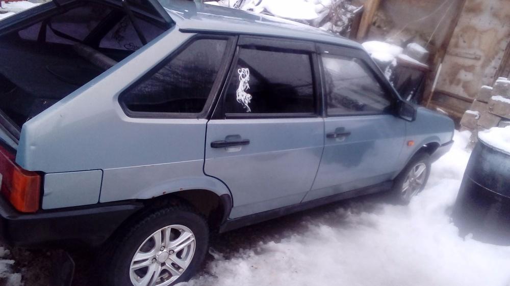 Подержанный ВАЗ (Lada) 2109, хорошее состояние, серый , 2001 года выпуска, цена 45 000 руб. в республике Татарстане