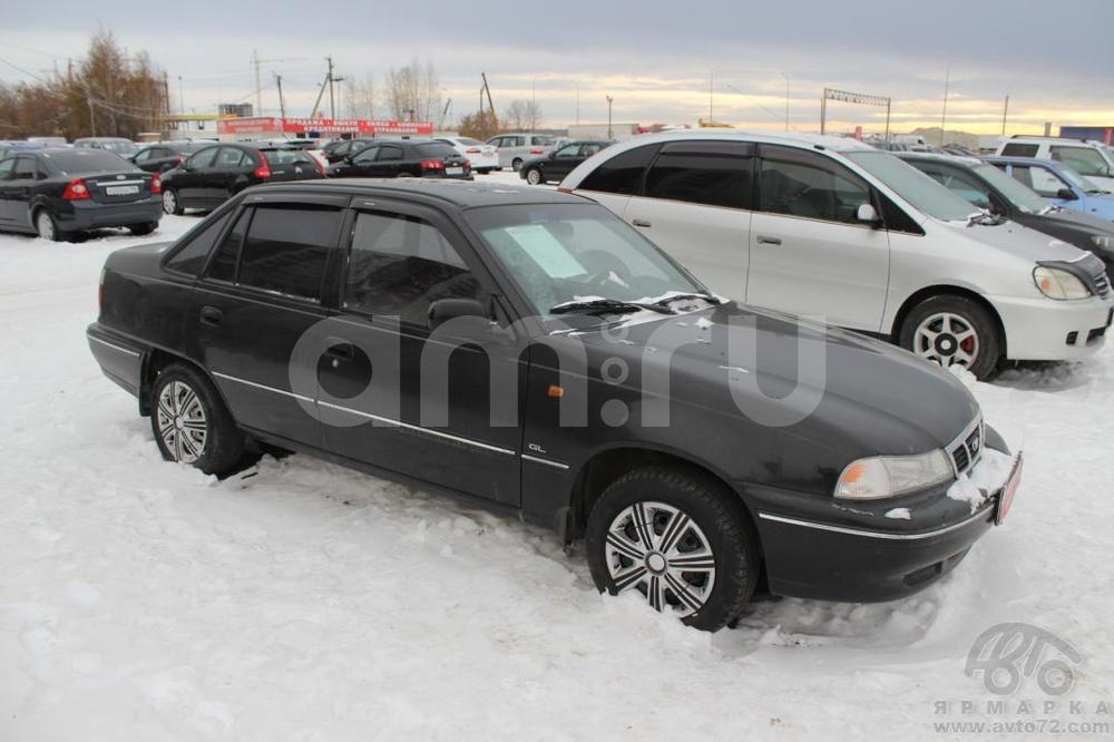 Daewoo Nexia с пробегом, черный , хорошее состояние, 2008 года выпуска, цена 130 000 руб. в автосалоне Автомобильная Ярмарка (Тюмень, ул. Пермякова, д. 85)