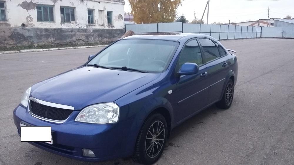 Подержанный Chevrolet Lacetti, отличное состояние, синий металлик, 2010 года выпуска, цена 330 000 руб. в республике Татарстане