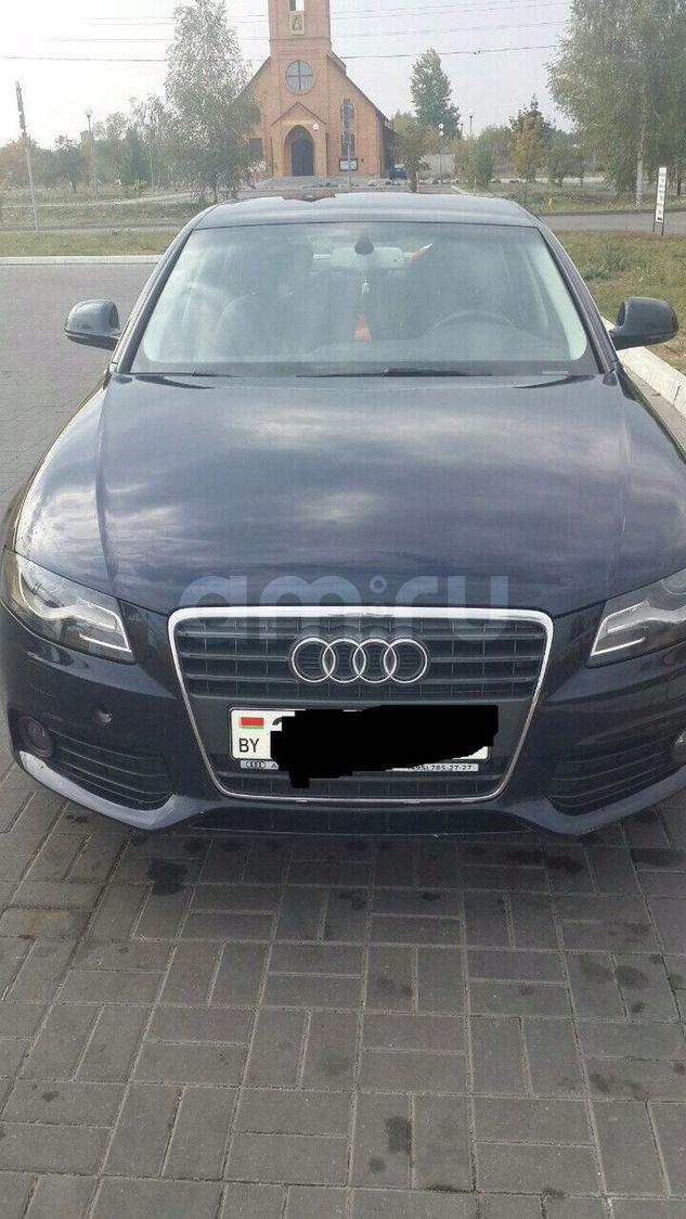 Подержанный Audi A4, отличное состояние, синий металлик, 2008 года выпуска, цена 650 000 руб. в Смоленской области
