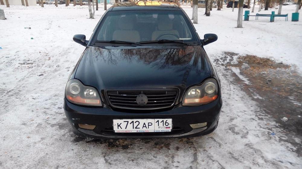 Подержанный Geely CK, отличное состояние, черный металлик, 2008 года выпуска, цена 145 000 руб. в республике Татарстане