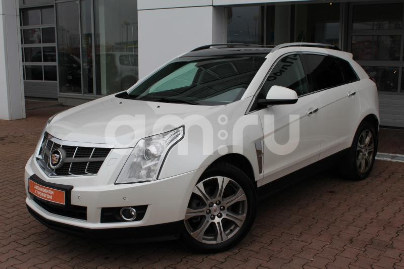 Cadillac SRX с пробегом, белый , отличное состояние, 2012 года выпуска, цена 1 175 000 руб. в автосалоне  ()