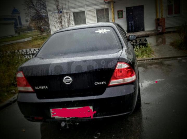 Подержанный Nissan Almera Classic, отличное состояние, черный , 2008 года выпуска, цена 265 000 руб. в ао. Ханты-Мансийском Автономном округе - Югре