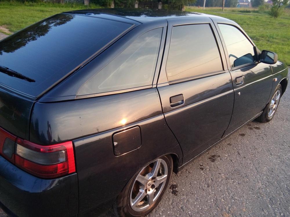 Подержанный ВАЗ (Lada) 2112, хорошее состояние, черный металлик, 2006 года выпуска, цена 145 000 руб. в Смоленской области