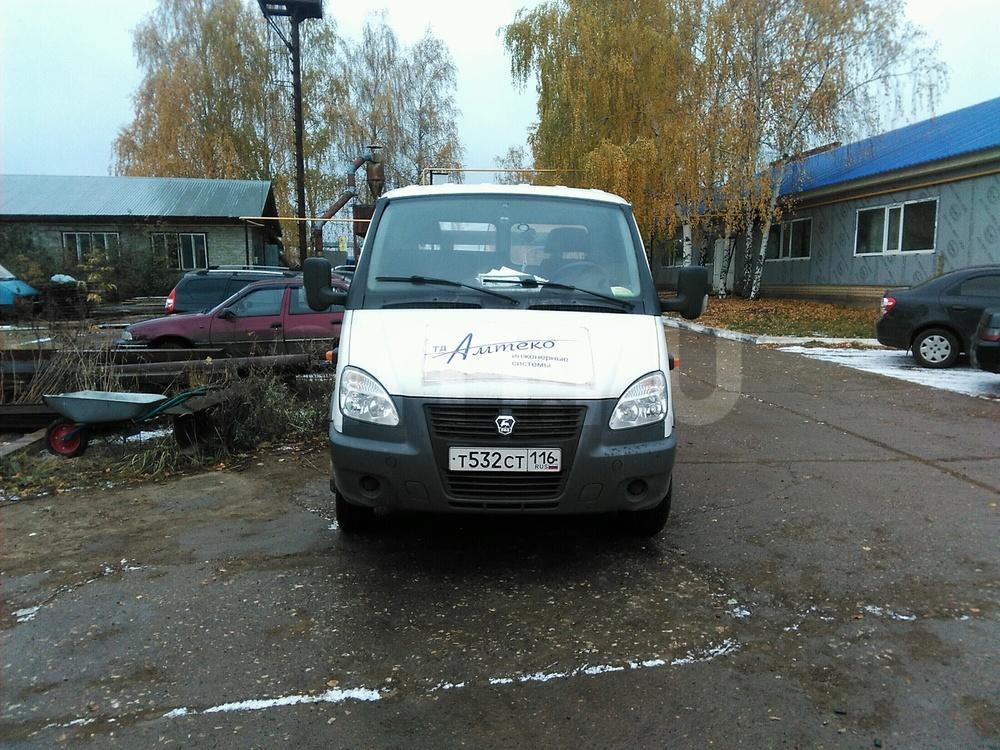Подержанный ГАЗ Газель, хорошее состояние, белый , 2014 года выпуска, цена 500 000 руб. в республике Татарстане