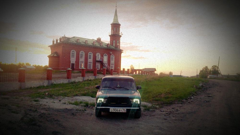 Подержанный ВАЗ (Lada) 2107, среднее состояние, синий , 2004 года выпуска, цена 32 000 руб. в Челябинской области